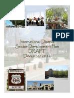 Draft International Dist. Sector Development Plan