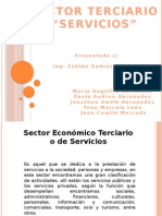 Exposicion Sector Terciario