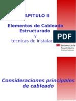 Capitulo 2 Elementos de Cableado y Tecnicas de Instalacion