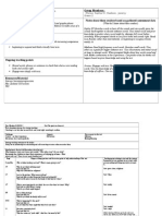 guided reading overview sheet and lesson plan-g2r