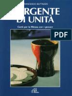 Francesco Buttazzo - 2000 - Sorgente di unità