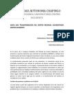 Ponencia Para El V Congreso DCRU Colectiva