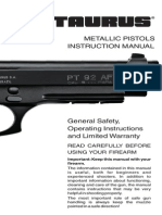 Metallic Pistol Manual