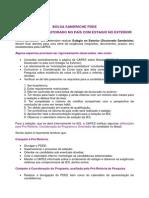 Bolsa PDEE- Informacoes