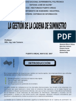 Gestion Cadena Suministro Presentacion Powerpoint
