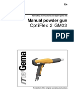 OptiFlex 2 GM03 Manual Gun Operation Manual-En-0611