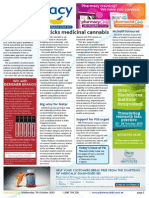 Pharmacy Daily for Wed 07 Oct 2015 - Cannabis, Coeliac testing, vitamin market share, pharmacist deregistered, new products and much more