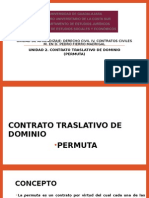 CONTRATO TRASLATIVO DE DOMINIO