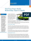 Ford Team Project Builds Relationships