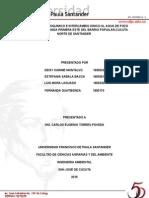 INFORME DEL LABORATORIO TRATAMIENTO FISICOQUIMICO A PEQUEÑA ESCALA Y EQUIPO DE INTERCAMBIO CATIONICO (1).docx