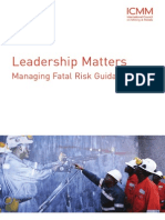 Leadership Matters - Managing Fatal Risk Guidance[1]