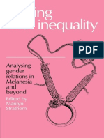 Strathern - Dealing With Inequality - Analysing Gender Relations in Melanesia and Beyond