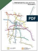 Red del metro DF