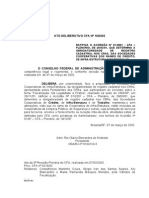 CFA RN 2012 Cooperativas