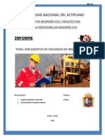 Exposicion - Implementos de Seguridad