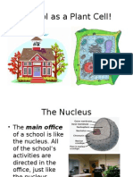 school cell analogy ppoint