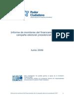Financiamiento de Campaña 2007