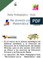 Rally Pedagógico presentacion