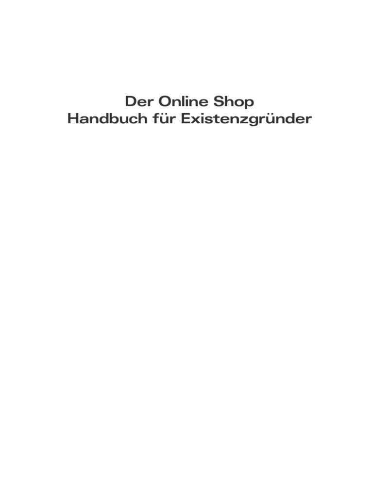 eBook Der Online Shop Handbuch :: wallaby.de