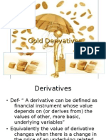 Gold Derivatives