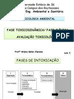 3ª Aula-Toxicodinâmica e Avaliação Toxicológica
