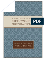 Therapists Guide to Brief Cbtmanual