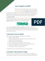 Tutorial Sistema Captcha Con PHP