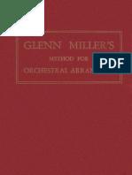 Glenn Miller's Method for Orchestral Arranging (Glenn Miller) (Mutual Music Society)