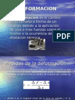 Deformacion de materiales no ferrosos