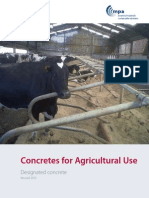 BRMCA Concretes for Agricultural Use 2015