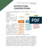 ADMINISTRACION ESTRUCTURA ORGANIZACIONAL