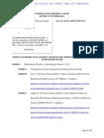 CoR Clearing, LLC v. Calissio Resources Group, Inc. Et Al Doc 22 Filed 05 Oct 15