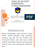 Proposal K3 Di Unit Radiologi