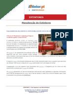 Ficha Tecnica - Manutenção de Extintores