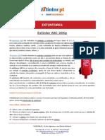 Ficha Tecnica - Extintor ABC 25kg