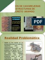 Formación de Cangrejeras en Estructuras de Concreto Armado