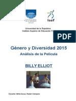 Analisis desde una visión de género y diversidad sobre la película Billy Elliot