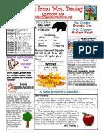newsletter october 5-9