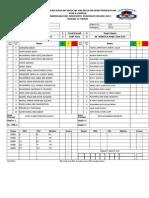 Score Sheet pertandingan