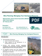 Mine Planning PDF