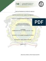 Cuadro Descriptivo-Lenguajes DDL y DML