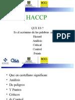 1. SENSIBILIZACION HACCP