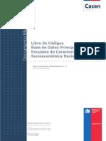 Libro de Codigos Casen 2013 Base Principal Metodologia Nueva - Copia