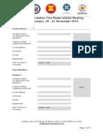 FINAL Application Form ModelASEAN Group