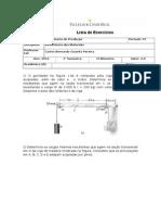 Lista Exercicios Resistência dos materiais - 02 - Nota