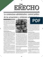 Lo Contencioso Administrativo Gaceta Jurídica El Derecho Bolivia