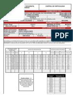 Certificado de Verticalidad -556