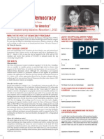 Voice of Democracy Entry Form and Brochure
