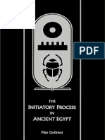 The Initiatory Process in Ancient Egypt - Max Guilmot