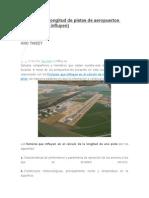 Cálculo de La Longitud de Pistas de Aeropuertos